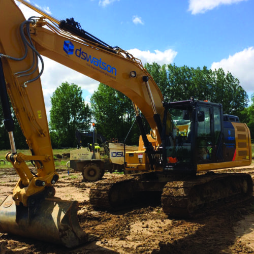 DS Watson Digger at site